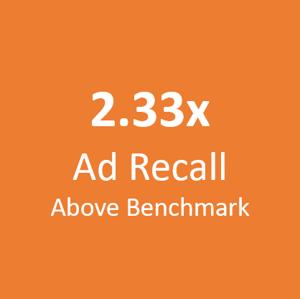 2x ad recall