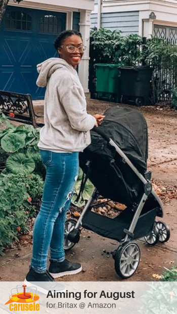Carusele Influencer Marketing - Aiming for August for Britax - Carusele
