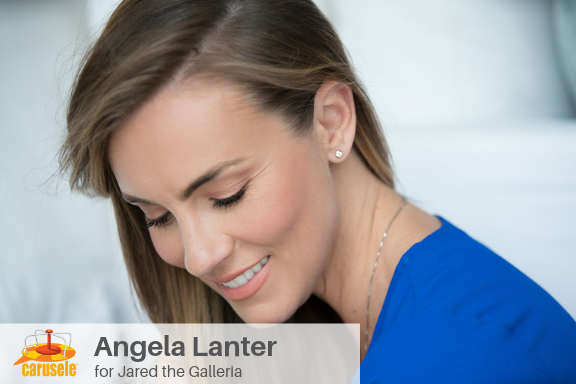 Carusele Influencer Marketing - Angela Lanter for Jared the Galleria