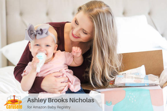 Carusele Influencer Marketing - Ashley Brooks Nicholas for Amazon Baby Registry - Carusele