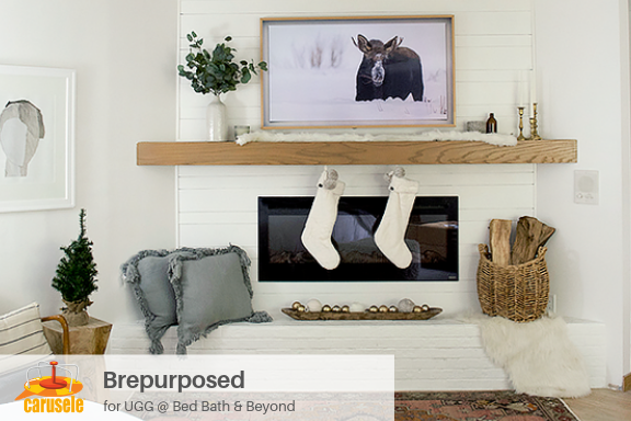 Carusele Influencer Marketing - Brepurposed at Bed Bath and Beyond