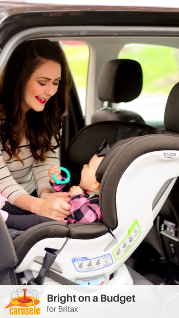 Carusele Influencer Marketing - Bright on a Budget for Britax on Amazon