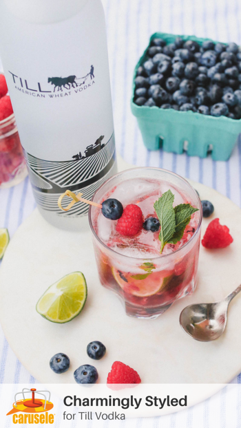 Carusele Influencer Marketing - Charmingly Stylded for Till Vodka