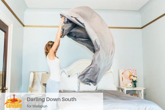 Carusele Influencer Marketing - Darling Down South for Welspun