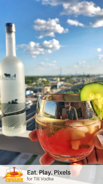 Carusele Influencer Marketing - Eat Play Pixels for Till Vodka