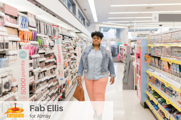 Carusele Influencer Marketing - Fab Ellis for Almay