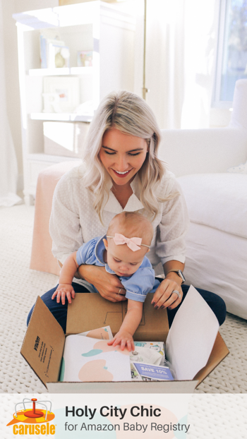 Carusele Influencer Marketing - Holy City Chic for Amazon Baby Registry - Carusele