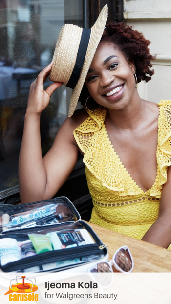 Carusele Influencer Marketing - Ijeoma Kola for Walgreens Beauty