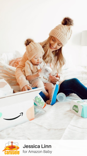 Carusele Influencer Marketing - Jessica Linn Style for Amazon Baby Registry