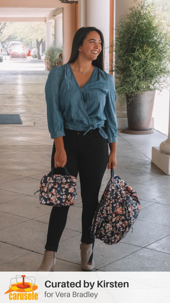 Carusele Influencer Marketing - Kirsten Ortez for Vera Bradley
