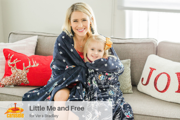 Carusele Influencer Marketing - Little Me and Free for Vera Bradley