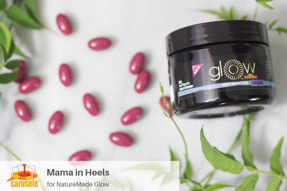 Carusele Influencer Marketing - Mama in Heels for NatureMade Glow