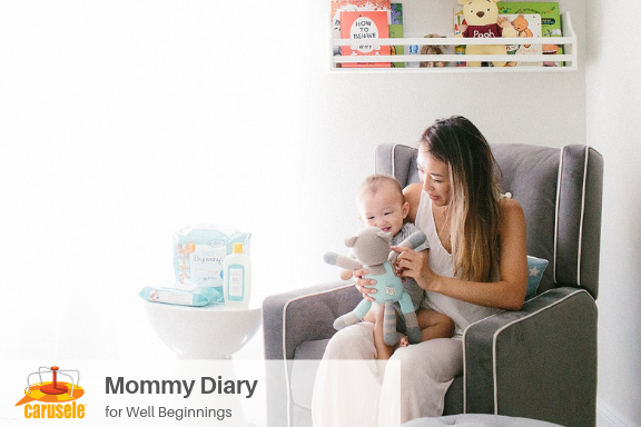 Carusele Influencer Marketing - Mommy Diary for Well Beginnings