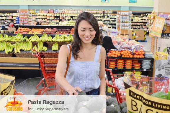 Carusele Influencer Marketing - Pasta Ragazza for Lucky Supermarkets