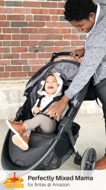 Carusele Influencer Marketing - Perfectly Mixed Mama for Britax - Carusele