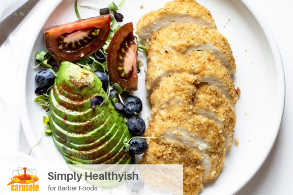 Carusele Influencer Marketing - Simply Healthyish for Barber Foods