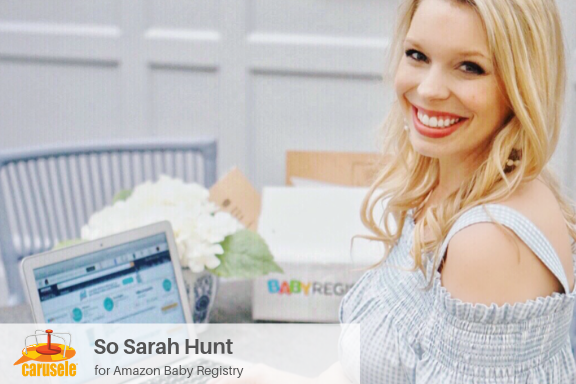 Carusele Influencer Marketing - So Sarah Hunt for Amazon