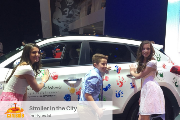 Carusele Influencer Marketing - Stroller in the City for Hyundai