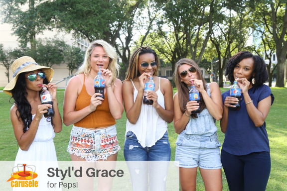 Carusele Influencer Marketing - Styld Grace for Pepsi-1