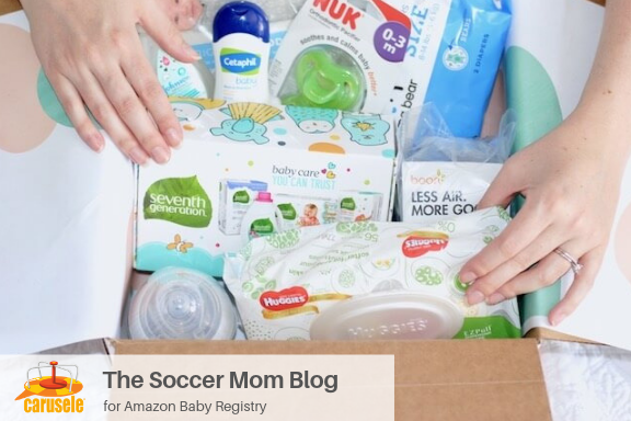 Carusele Influencer Marketing - The Soccer Mom Blog for Amazon Baby Registry - Carusele