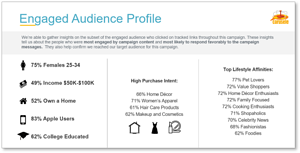 Engaged Audience Profiles