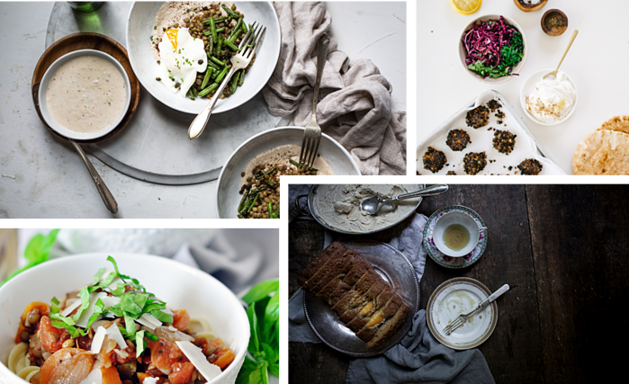 Beautiful content created in an influencer campaign for Carusele client Canadian Lentils