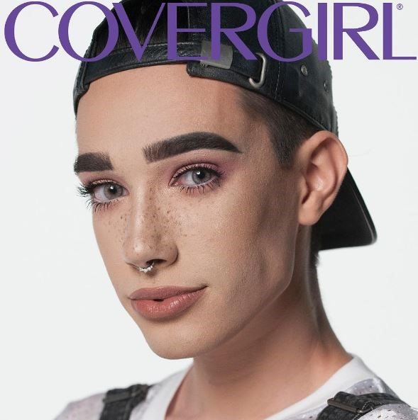 James Charles for Covergirl