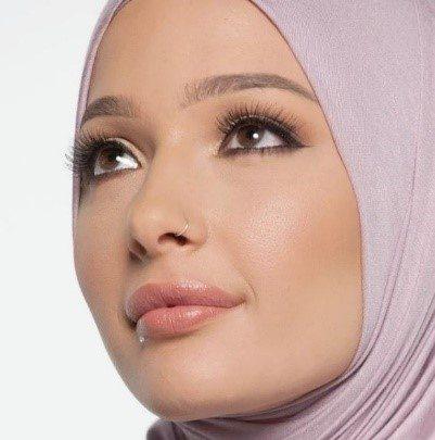 Nura Afia for CoverGirl. Photo: CoverGirl