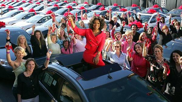 Oprah Image from AutoBlog