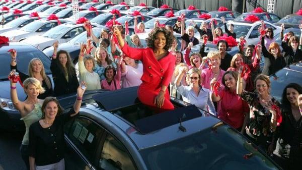 Oprah Image from AutoBlog