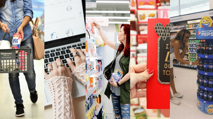 Creative approaches to in-store content