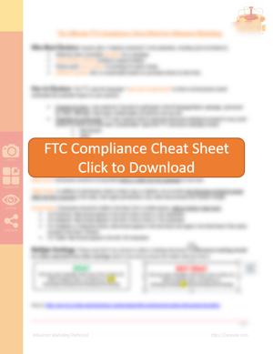 ftc influencer compliance