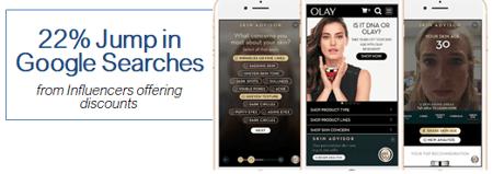 Olay Influencer Marketing Example