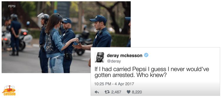 Kendal Jenner Pepsi Campaign